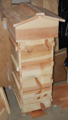 Assembled Hive Ready to Paint or Stain